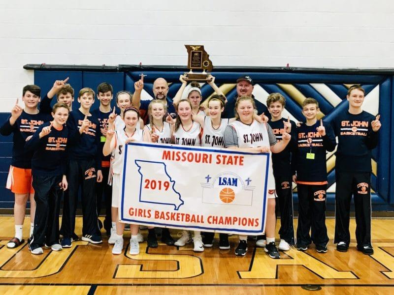Girls basketball team wins state